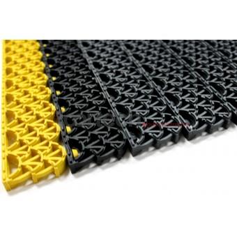 Антикаблук - антискользящее грязезащитное модульное покрытие, высотой 10, 14, 20 мм.