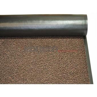 Грязезащитное влаговпитывающее рулонное покрытие Перу коричневый