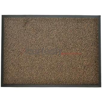 Грязезащитный влаговпитывающий ковер Перу коричневый