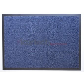 Грязезащитный влаговпитывающий ковер Перу синий