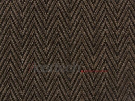 Грязезащитный влаговпитывающий ковер Магнус люкс коричневый