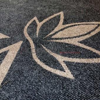 Ковер с врезным логотипом