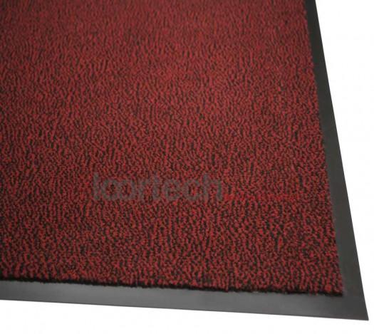 Грязезащитный ковер Марс красный