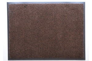 Грязезащитный ковер Профи Люкс коричневый 90х200 см.